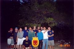 Dalmácie, září 2003